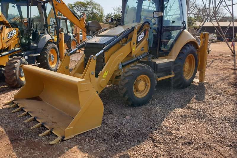 Caterpillar TLBs 428F Backhoe Loader 2013