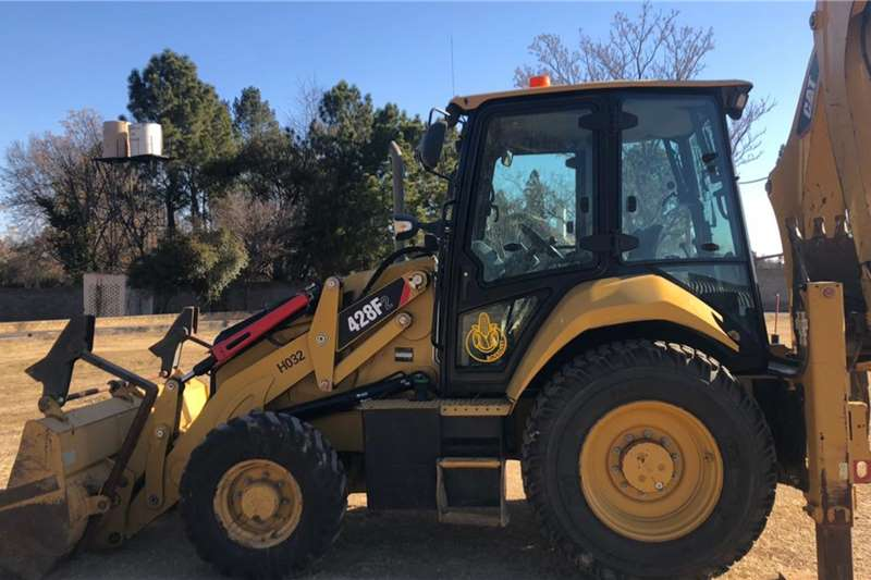 Caterpillar 428F2 Backhoe Loader TLBs