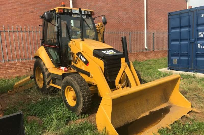 Caterpillar TLBs Caterpillar 416F 4x4 Backhoe Loader TLB 2013