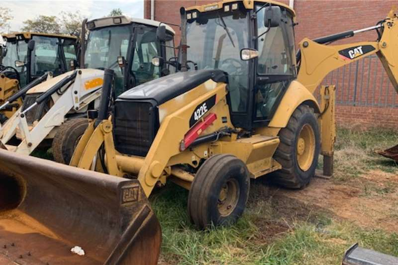 Caterpillar TLBs Caterpillar 422E 4x2 Backhoe Loader TLB 2011