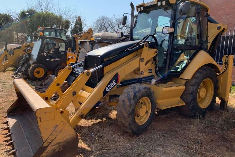 Caterpillar TLBs Caterpillar 428E 4x4 Backhoe Loader TLB 2011