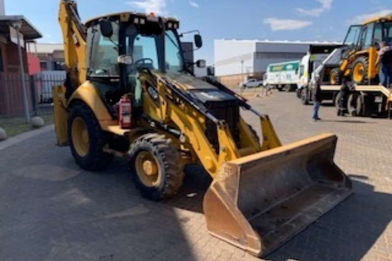 Caterpillar TLBs Caterpillar 428F 4x4 Backhoe Loader TLB 2015