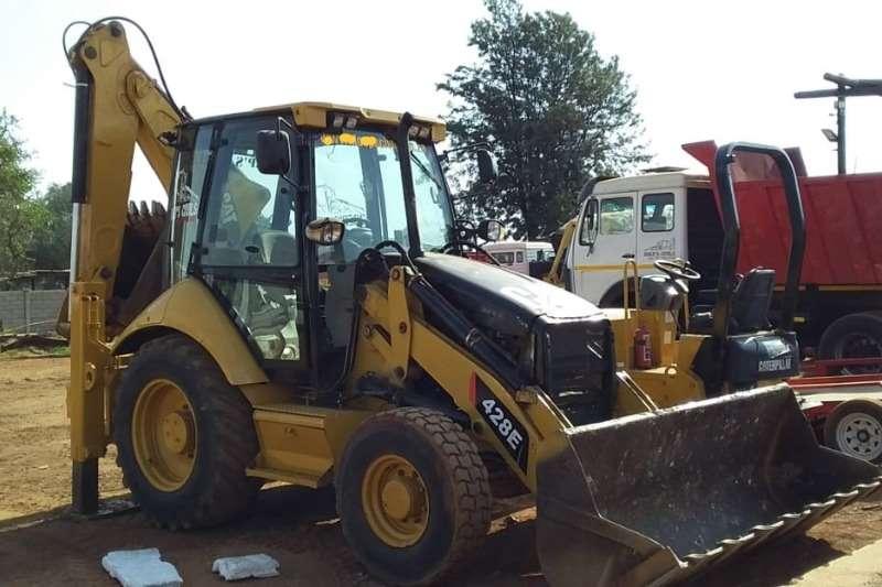 Caterpillar TLBs Construction 428E Backhoe Loader 4x4 2009