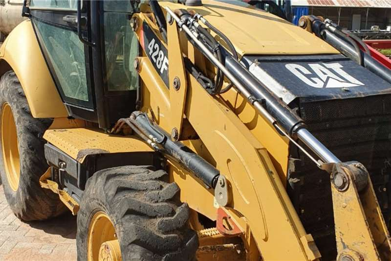 Caterpillar TLBs Construction 428F (4x4)   Viewing by appointment only   Vryburg 2013