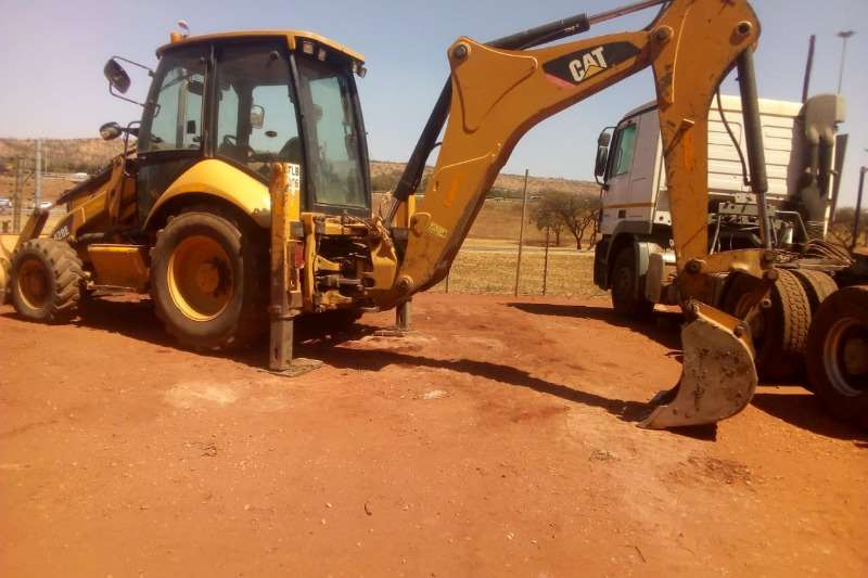 Caterpillar TLBs Construction CAT 428E 4X4 TLB 2011