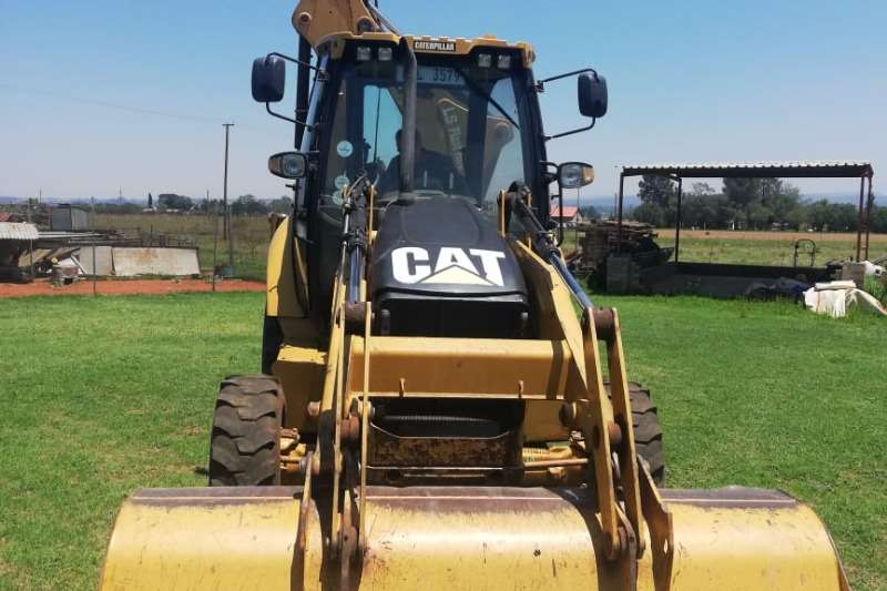 Caterpillar TLBs Farming 428E 4x4 2011
