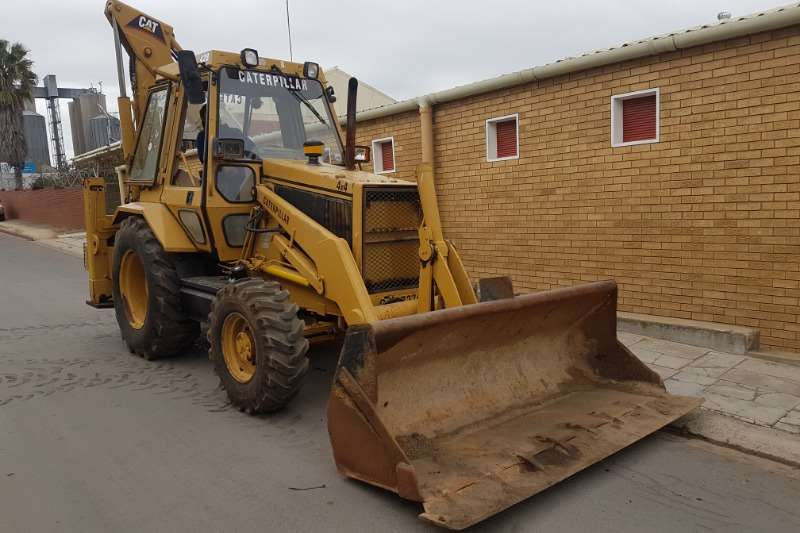 Caterpillar TLBs Farming CAT 428 1992