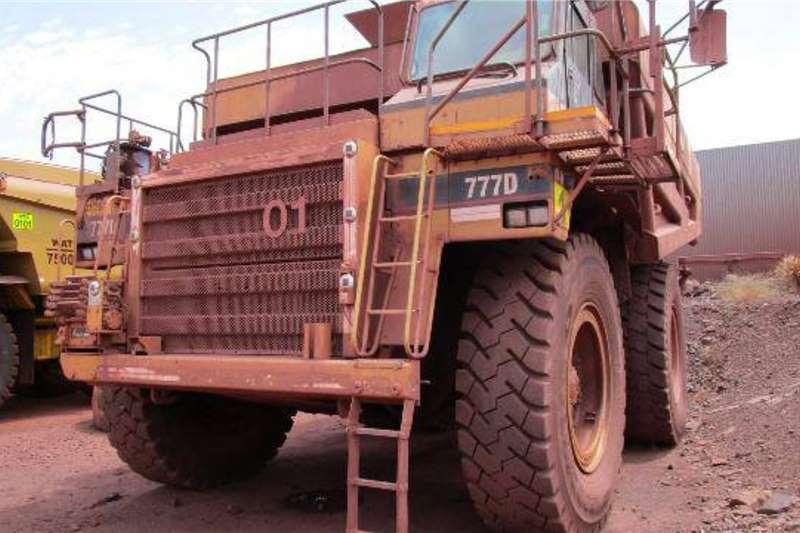 Caterpillar Water tankers Caterpillar 777D Water Bowser Truck
