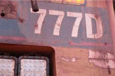 Caterpillar Caterpillar 777D Water Bowser Truck Water tankers
