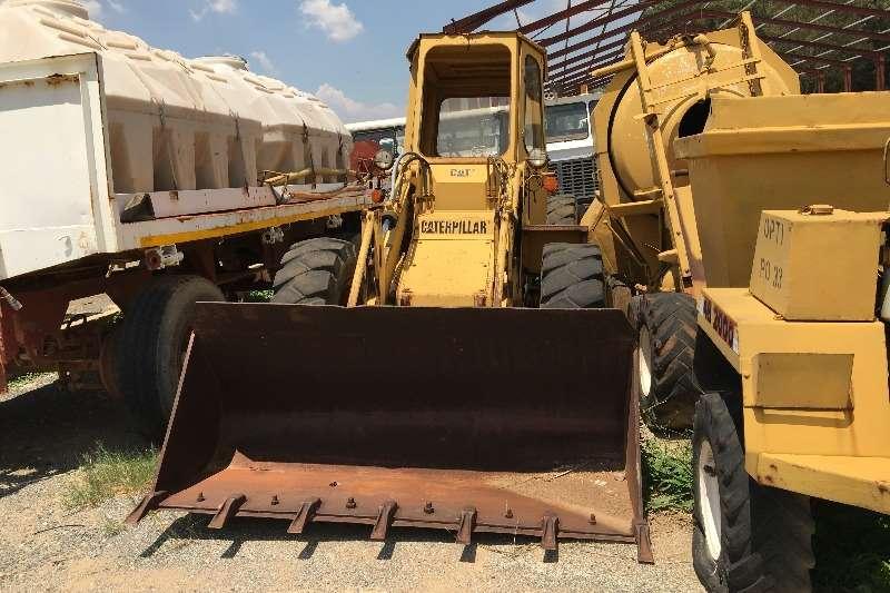Caterpillar Wheel loader Caterpillar 910 Wheel Loader Scrap