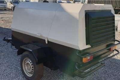 Rotair 80AD Single Axle Mobile Compressor Compressors