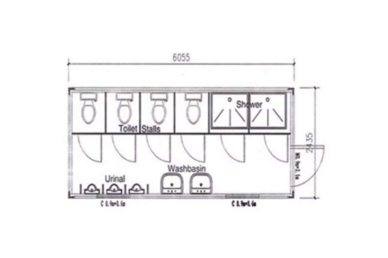 2020 Sino Plant  Container - Male Ablution