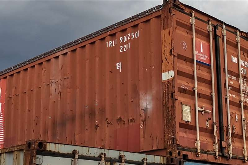 Sino Plant  Open Top 6M Used Container