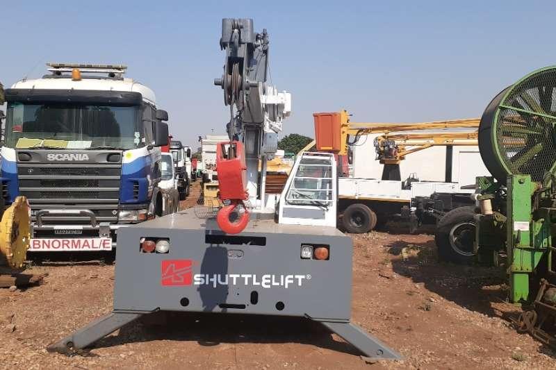 Cranes Shuttle Shift 3330 FL 7 Ton Mobile Crane