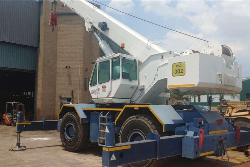 Terex TR500 Rough Terrain Cranes