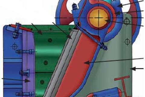 2020 Sheffield  36 X 48 inch Jaw crusher