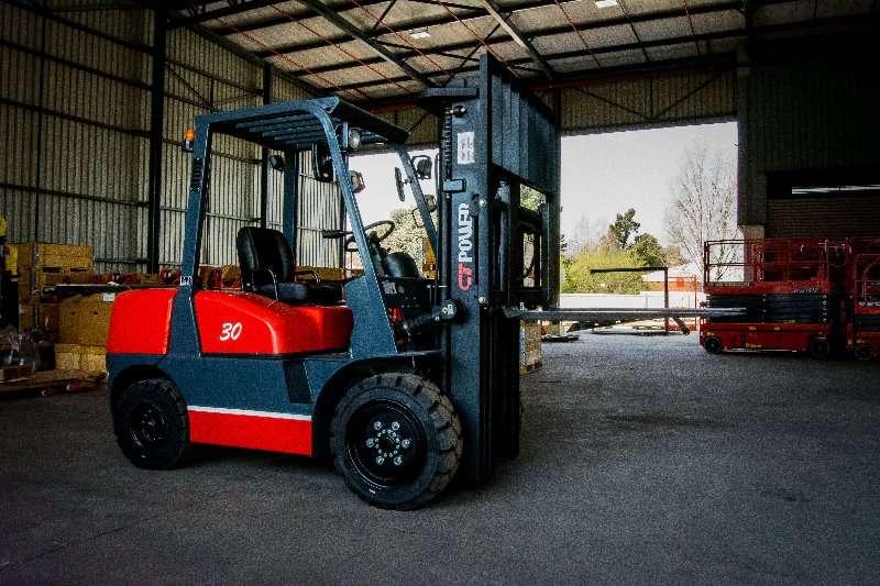 CT Power Forklifts Diesel forklift FD30, 3 Ton, 3 Stage 4.8m mast Forklifts for Sale 2019