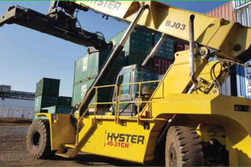 Delta Lift Container stackers HYSTER 45 31CH REACH STACKERS 2019
