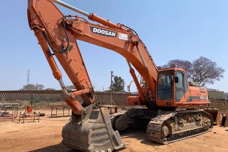 Doosan Excavators SOLAR 500LC V 2014