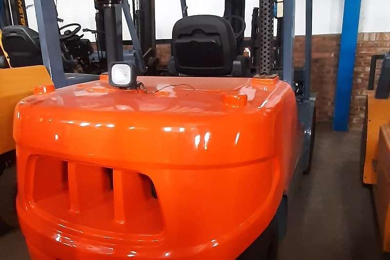 Doosan Diesel forklift D55SC 5 Forklifts
