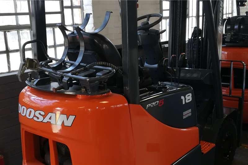 Doosan Forklifts Diesel Forklift Doosan 1.8Ton LP Gas Forklift