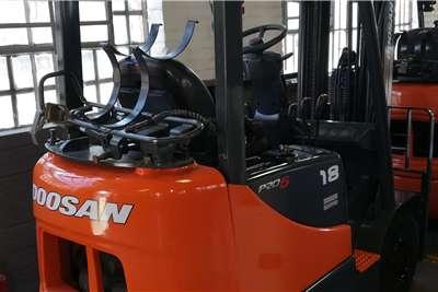 Doosan Diesel forklift Doosan 1.8Ton LP Gas Forklift Forklifts