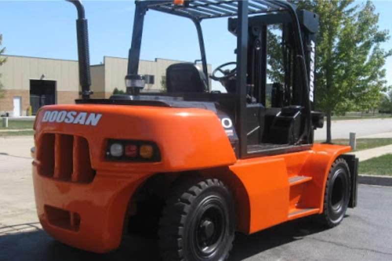 Doosan Forklifts Diesel Forklift Doosan 7Ton Diesel Forklift