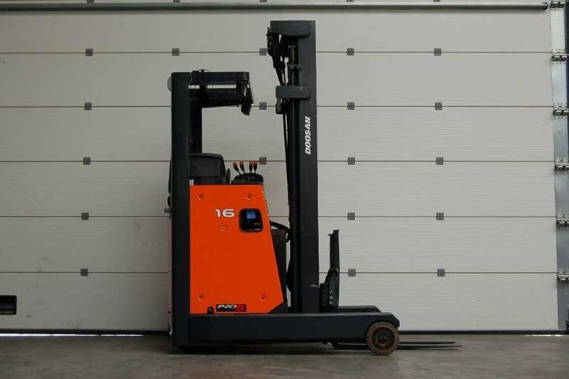 Doosan Forklifts Electric forklift 1.6 TonBR16JWReach Truck