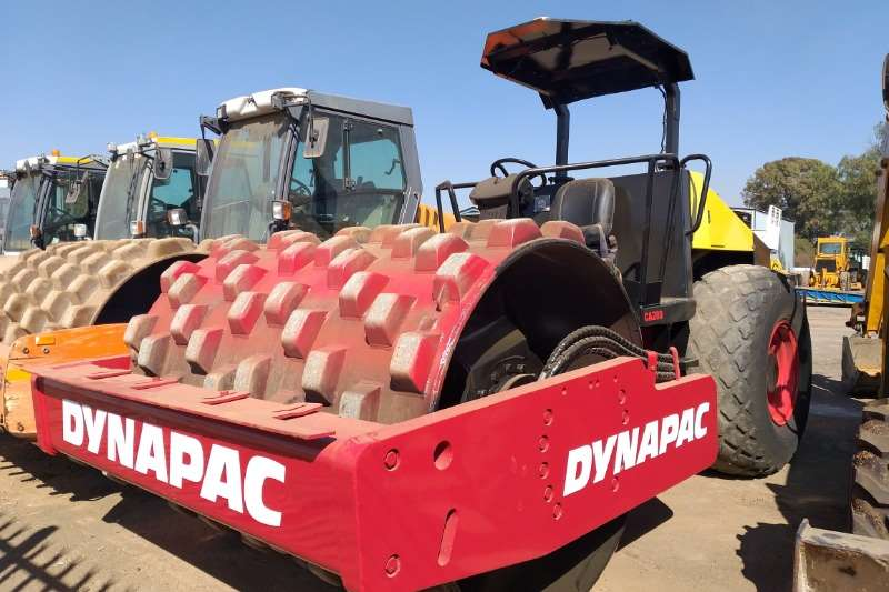 Dynapac Rollers Vibratory roller 2010 Dynapac CA280D Padfoot Roller 2010