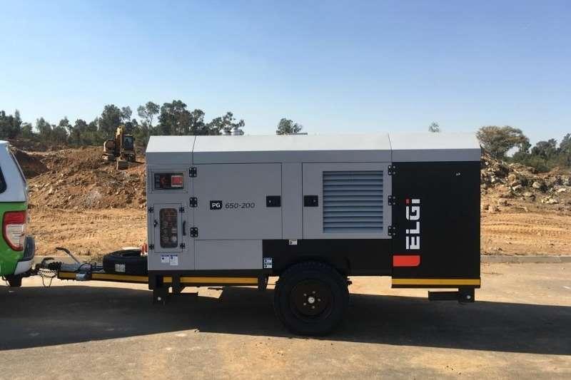 ELGI Compressors 650/200 TROLLEY MOUNTED COMPRESSOR 2019