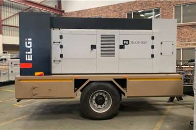 ELGI VX   Vertex Compressor Trailer mounted Compressors