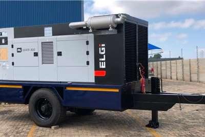 ELGI VX   VERTEX Compressor with Trailer Compressors