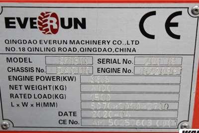 Everun ER1500 4 Series Telescopic Loader Loaders
