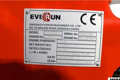 Everun ER416T 1.6 Ton Compact Wheel Loader Loaders
