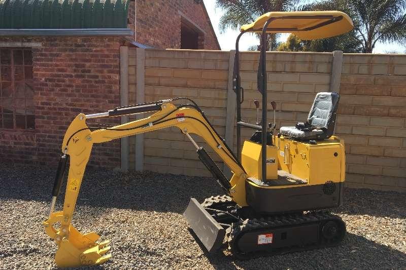 Feeler Construction FX08 Mini excavators