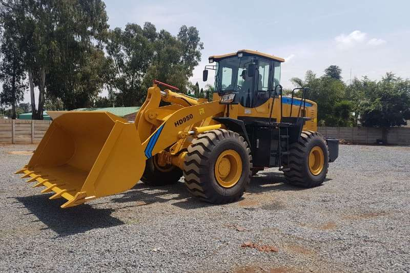 Feeler New   Feeler HD950 Wheel Loader 5 Ton 6CT Cummins Wheel loader