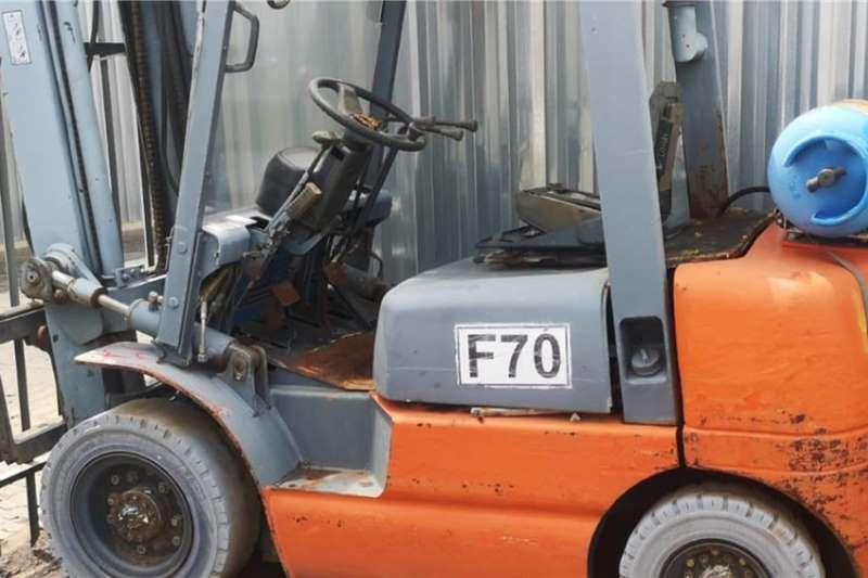 2.5 ton TCM petrol on LP gas Forklifts