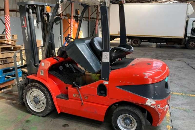 Forklifts Diesel forklift Euro Diesel Forklift 3.5 Ton