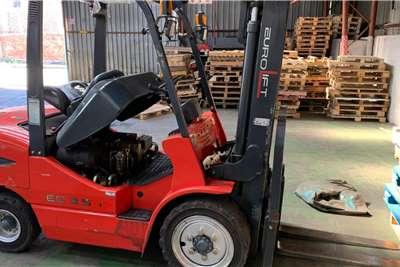 Diesel forklift Euro Diesel Forklift 3.5 Ton Forklifts
