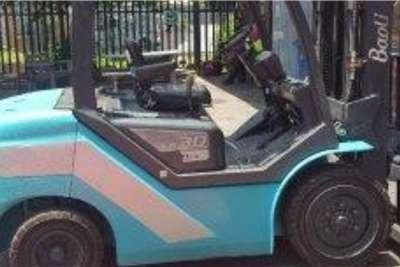 Forklifts Diesel forklift Baoli 3 Ton KB30 Forklifts
