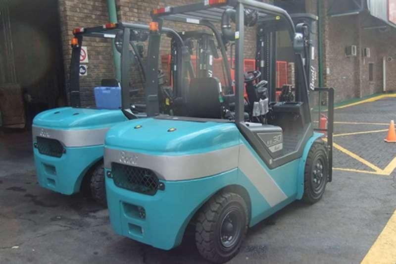 Forklifts Forklifts Diesel forklift KBD30Baoli 3 ton 2017