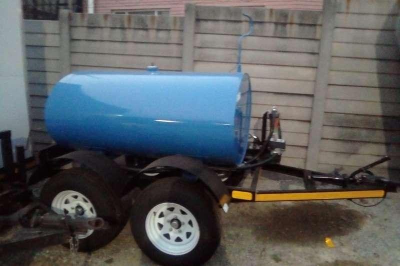 Fuel tankers 1000 Liter Fuel trailer 2019