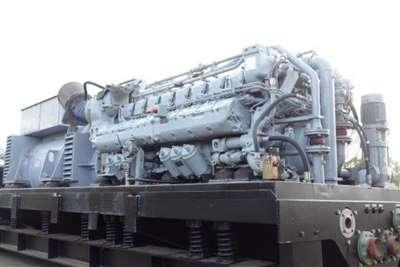 MTU 2500 KVA Generator set. Generator