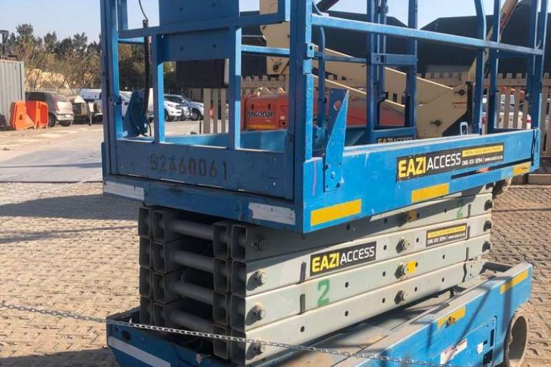 Genie Scissor lifts 12m Electric Scissor Lift. Serial: GS4605 75030 2005