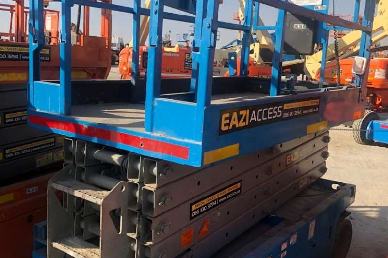 Genie Scissor lifts Fleet Number 3246 0068 2007