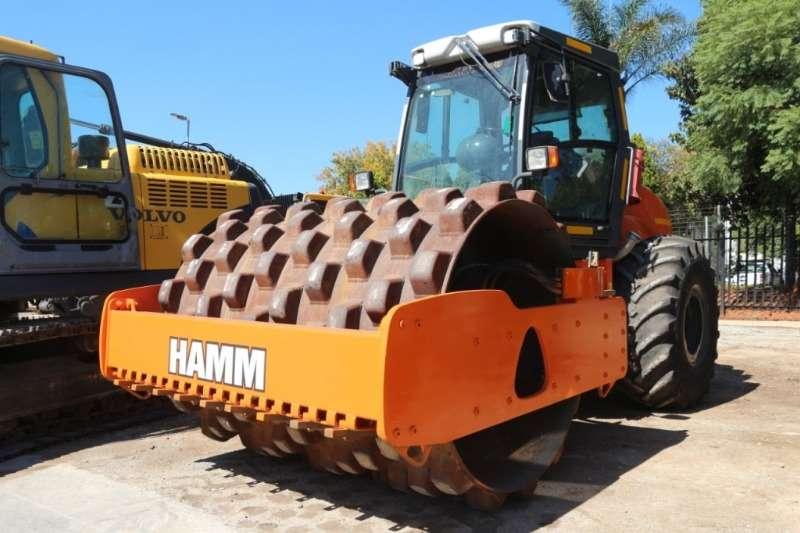 Hamm Roller 3411 Pad Foot Roller 2013