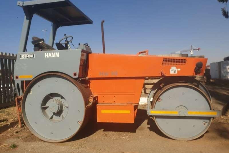 Hamm Rollers HW90