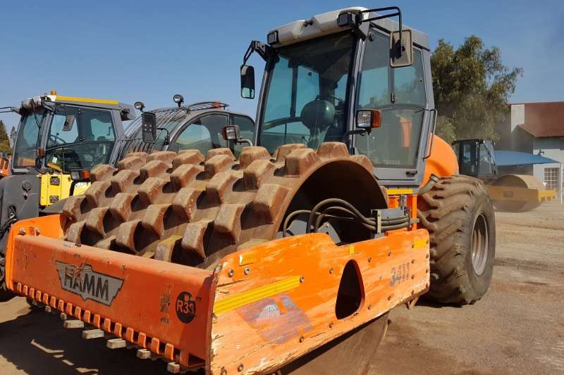 Hamm Rollers Vibratory roller 2016 Hamm 3411 Padfoot Roller 2016