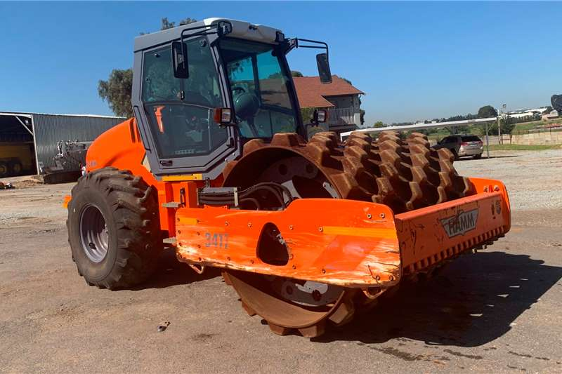 Hamm Vibratory roller 2016 Hamm 3411 Padfoot Roller Rollers