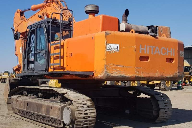 Hitachi Excavators 2008 HITACHI ZX 470LCR 3 2008